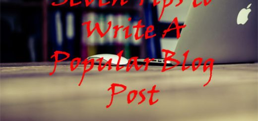 tips to write a popular blog post